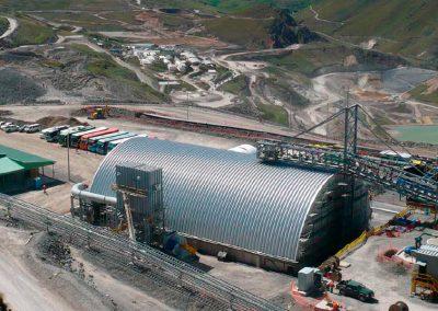 <center><h7>Sectores Industriales</h7><hr /><h6> Aplicación del sistema en una mina de cobre, Perú</h6></center>